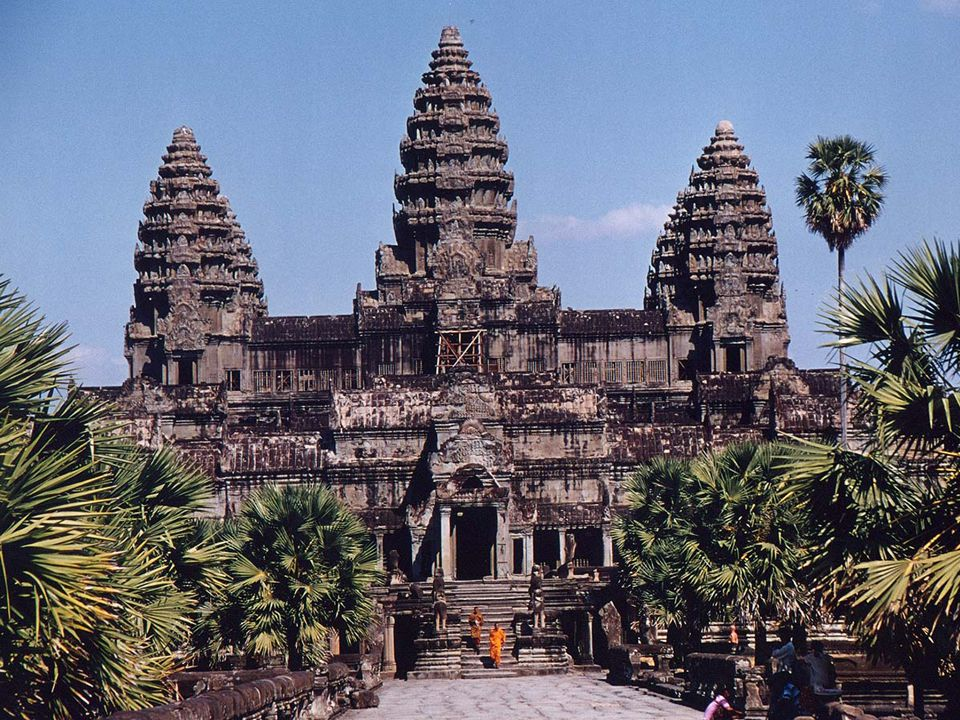The Angkor Wat in Cambodia