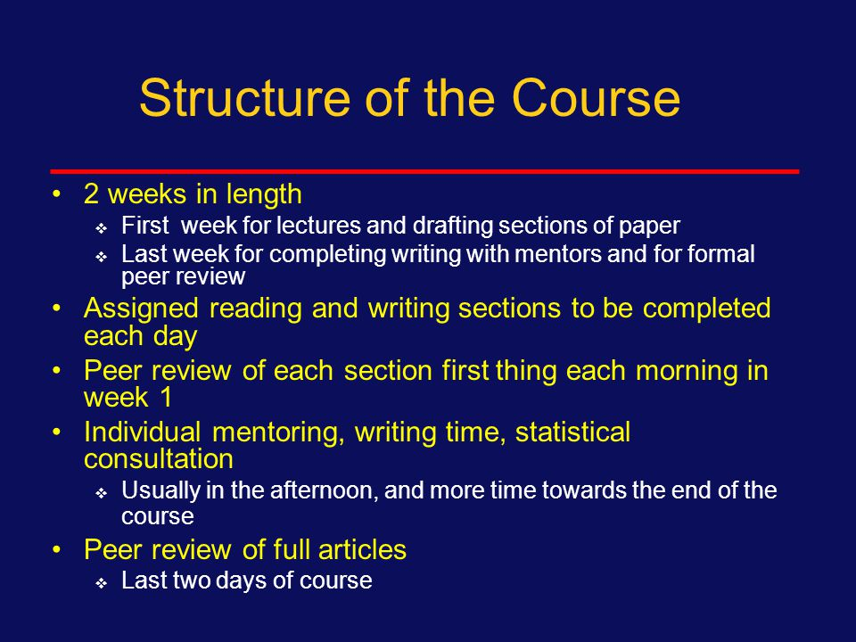 Sections of a research paper Introduction Methods Results Discussion Acknowledgments References Tables Figures Title page -Long title -Short (running) title -Authors -Affiliations -Correspondence Abstract Key words