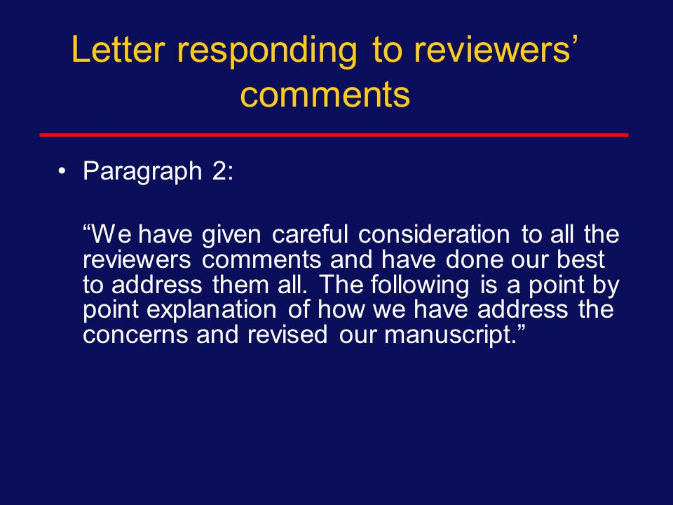 Letter responding to reviewers' comments Paragraph 1: We are delighted that AIDS & Behavior will consider publication of our paper pending satisfactory revisions as suggested by the reviewers.