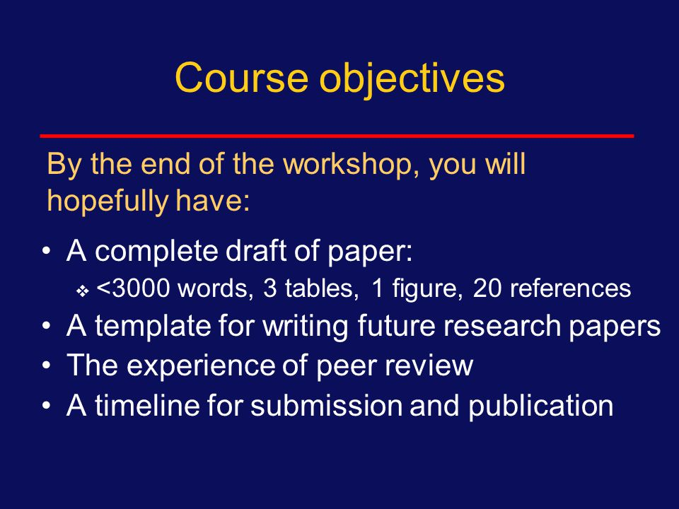 Today's homework Draft (revise):  Discussion section  Continue to work on other parts of your manuscript and analysis