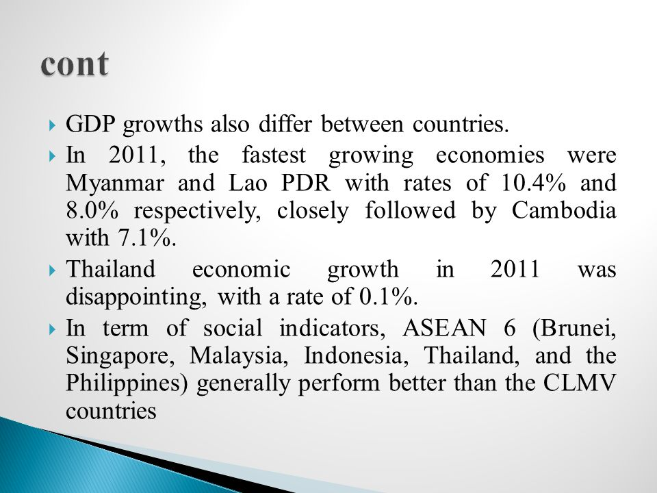 3.1 Why ASEAN decided to establish AEC  9th ASEAN Summit agreed to establish the ASEAN Economic Community (AEC) as the end goal of economic integration as outlined in the ASEAN Vision 2020.