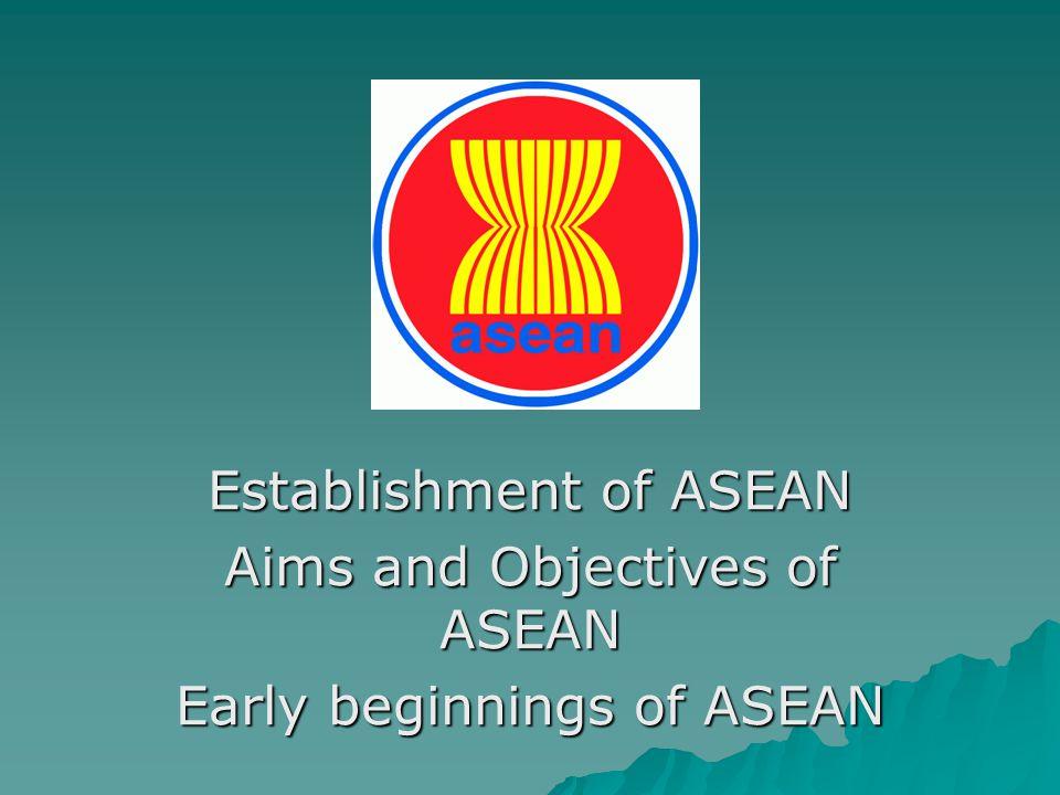 ASEAN's Development 1970s~1990s