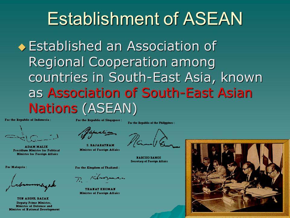 History of ASEAN (1990-2008)