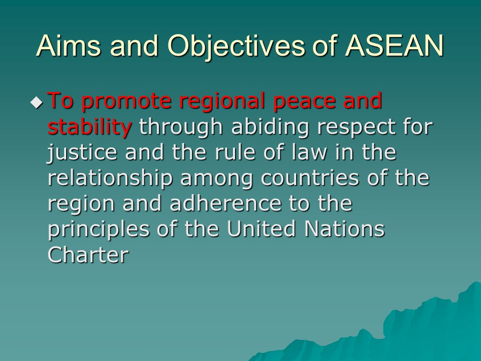 ASEAN in 2007  ASEAN celebrated its 40th anniversary since its formation, as well as 30 years of diplomatic relations with the United States.