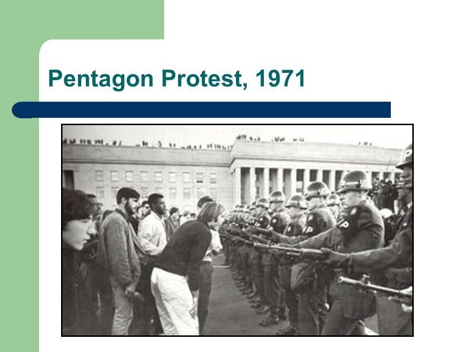 Pentagon Protest, 1971