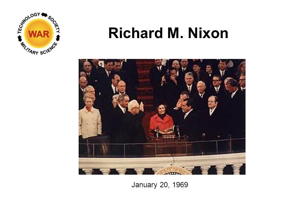 Richard M. Nixon January 20, 1969