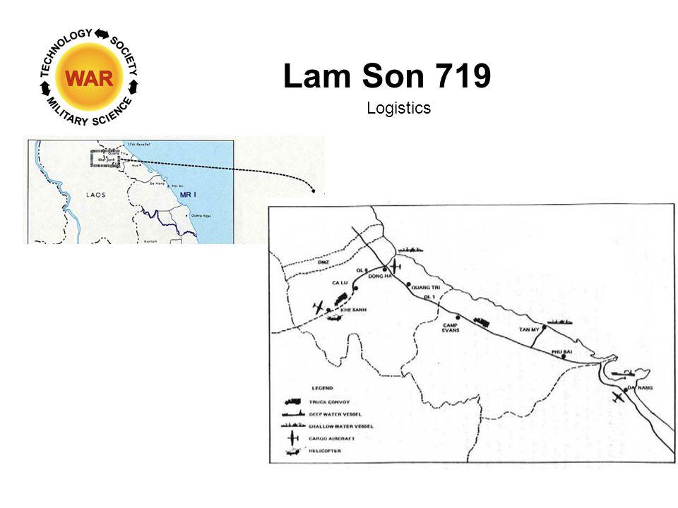 Lam Son 719 Logistics