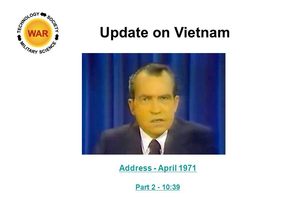 Update on Vietnam Address - April 1971 Part 2 - 10:39