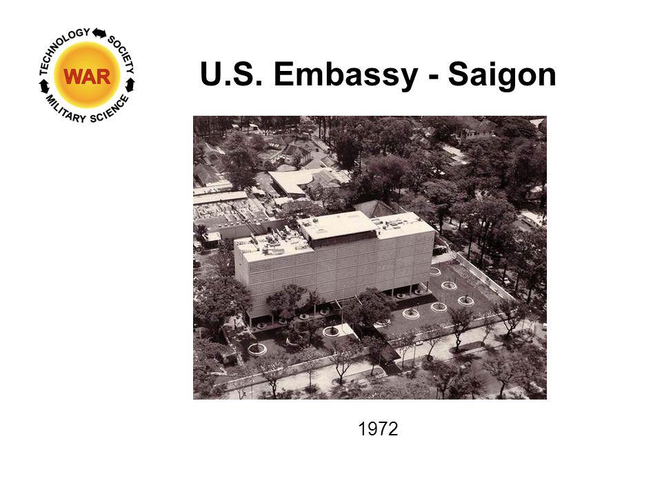 U.S. Embassy - Saigon 1972
