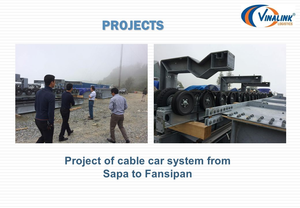 PROJECTS Project of cable car system from Sapa to Fansipan