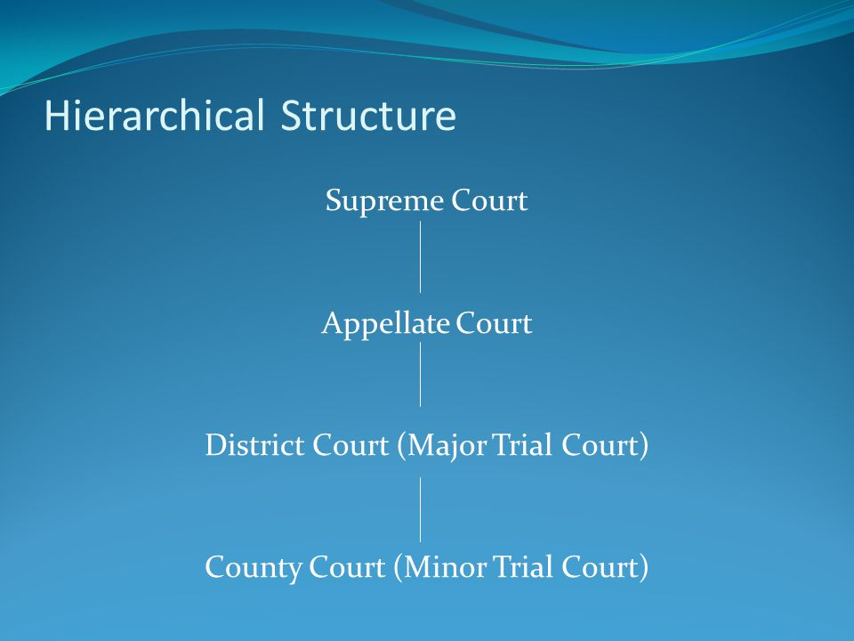 Federal Court System: U.S.