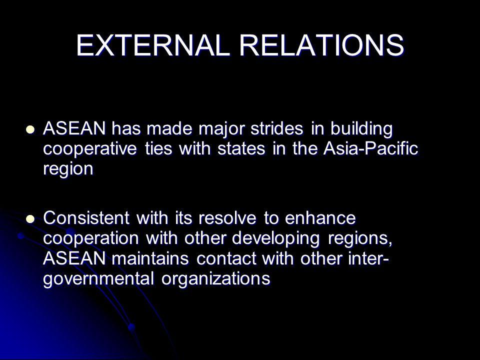 ASEAN GOAL: ECONOMIC INTEGRATION