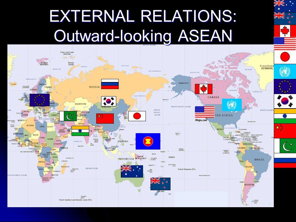 EXTERNAL RELATIONS Dialogue Partners Australia, Canada, China, India, Japan, European Union, New Zealand, Republic of Korea, Russian Federation, Unite