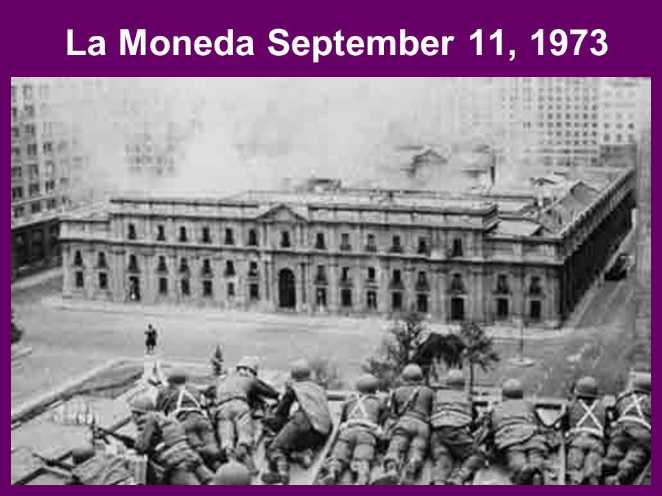 La Moneda September 11, 1973