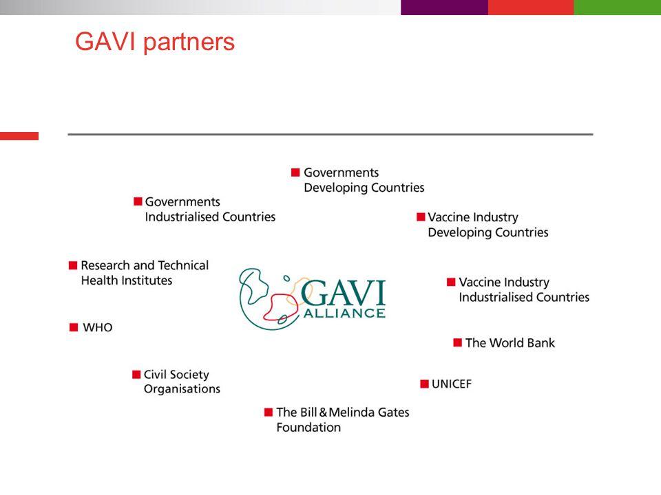 GAVI partners