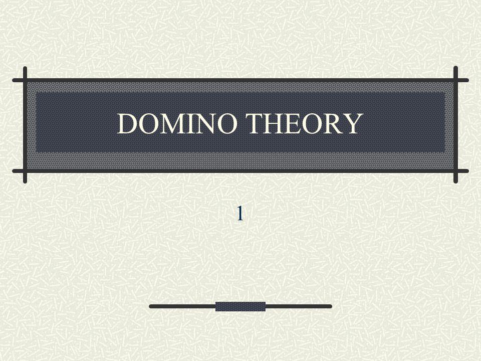 DOMINO THEORY 1