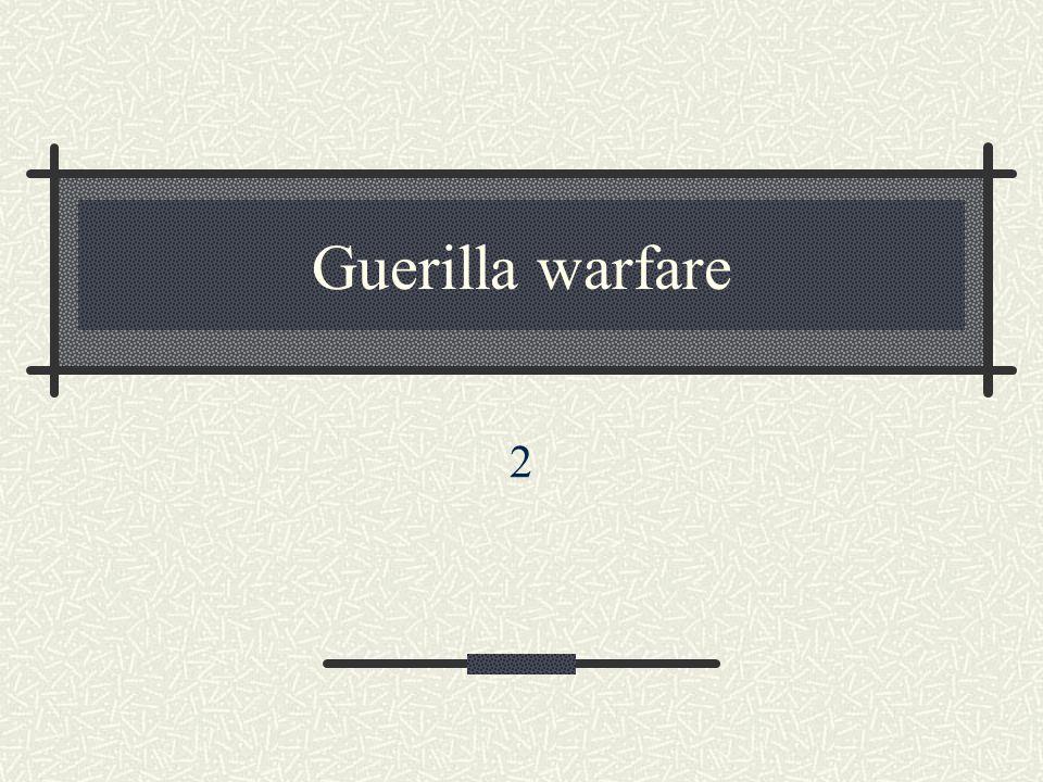 Guerilla warfare 2