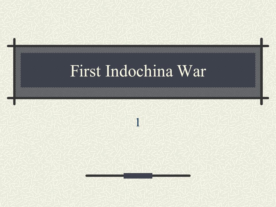 1946-1954: First Indochina War War for Independence After WWII = Ho Chi Minh proclaimed Vietnam independent & himself president Vietnamese Nationalists led by Ho Chi Minh against the French resulted from the French decision to move back into Vietnam after World War II French occupied coast and major cities drove revolutionaries out of Saigon Vietnamese forces occupied northern mountains North Vietnam and South Vietnam differed from one another in that the North was extremely nationalistic, while the South was much less so