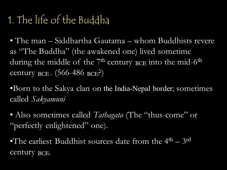 The story of the Buddha: History.Legend. Myth. Miracle.
