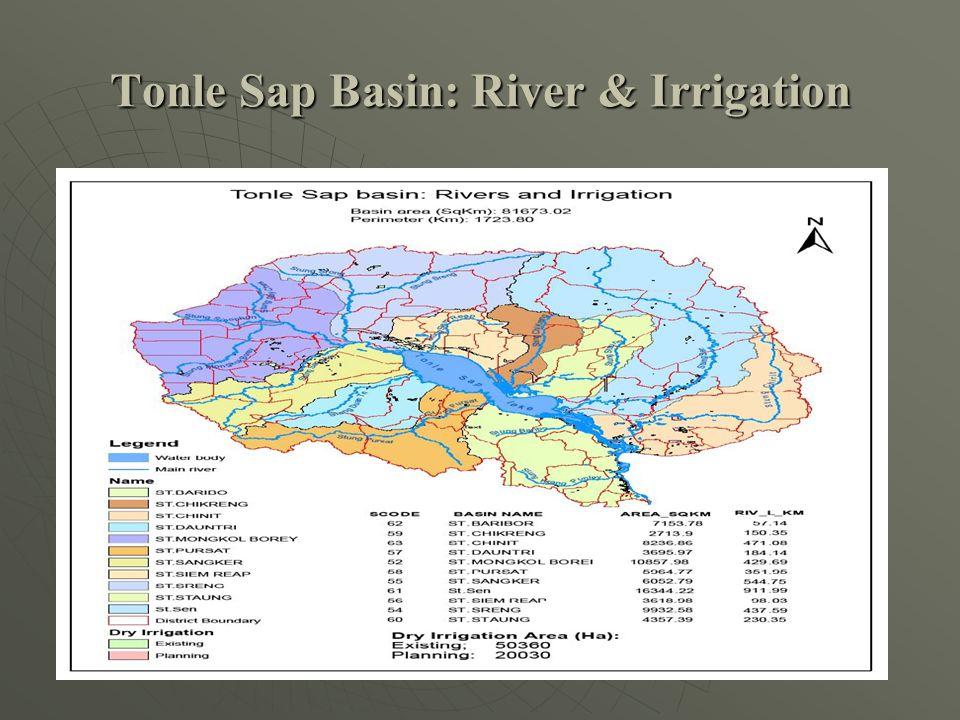 Tonle Sap Basin: River & Irrigation