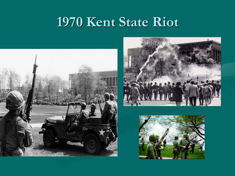 1970 Kent State Riot