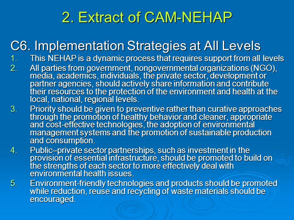 2.Extract of CAM-NEHAP C6.