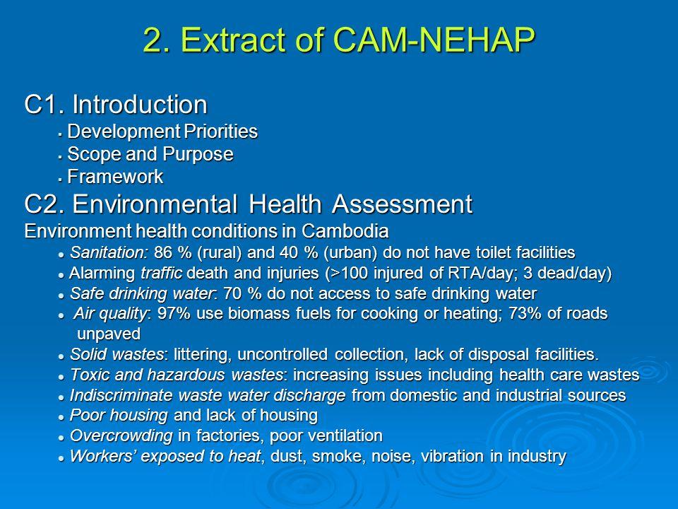 2.Extract of CAM-NEHAP C1.