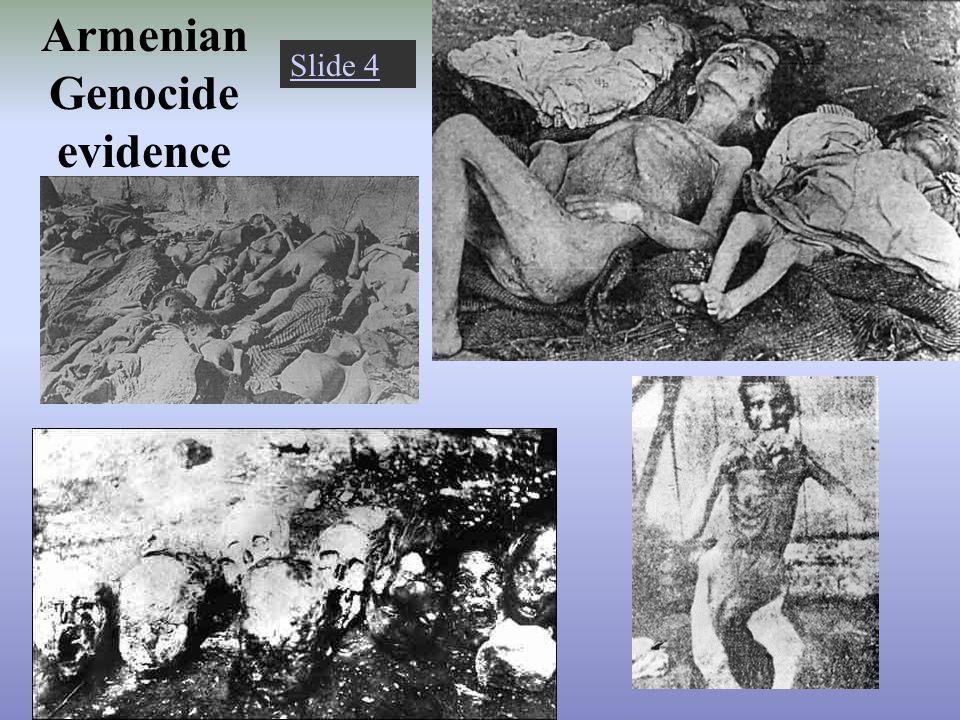 Armenian Genocide evidence Slide 4