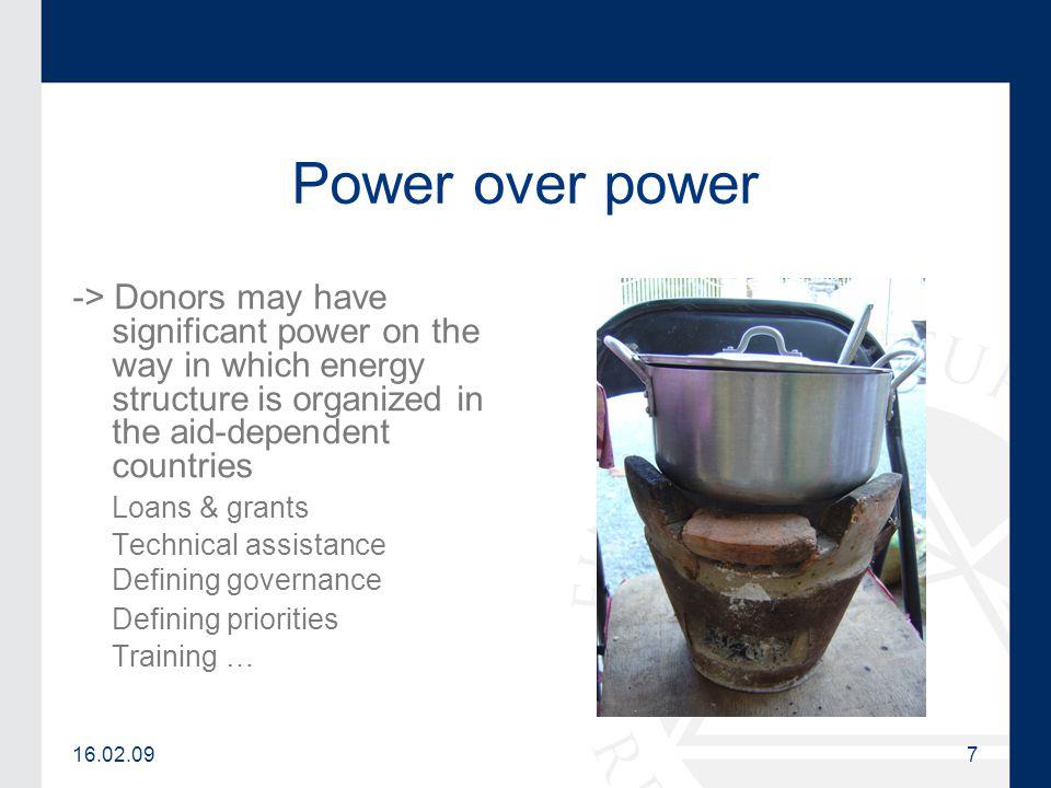 16.02.098 Energy project failure.