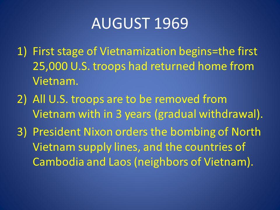 MARCH 1975 1)North Vietnam invades South Vietnam=South Vietnam appeals to the U.S.