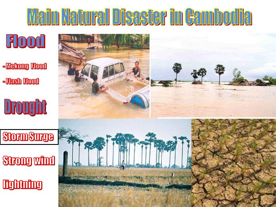 Flood and flashfloods in Cambodia year 2011