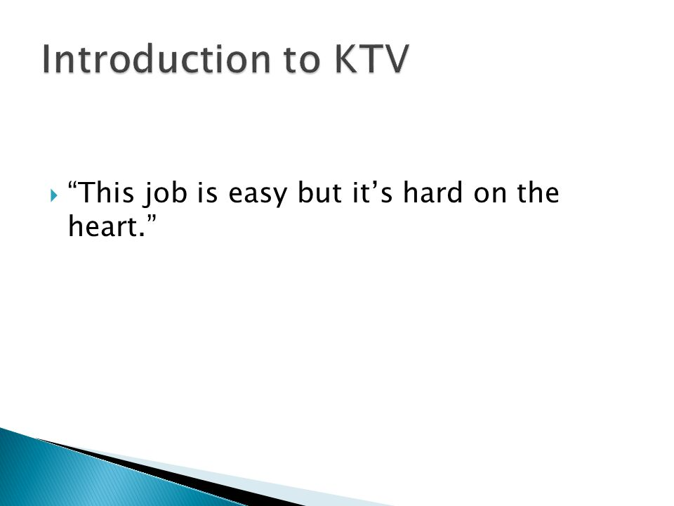 """ """"This job is easy but it's hard on the heart."""""""