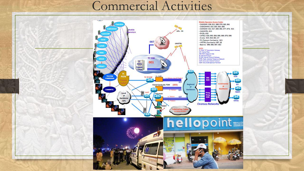 Commercial Activities