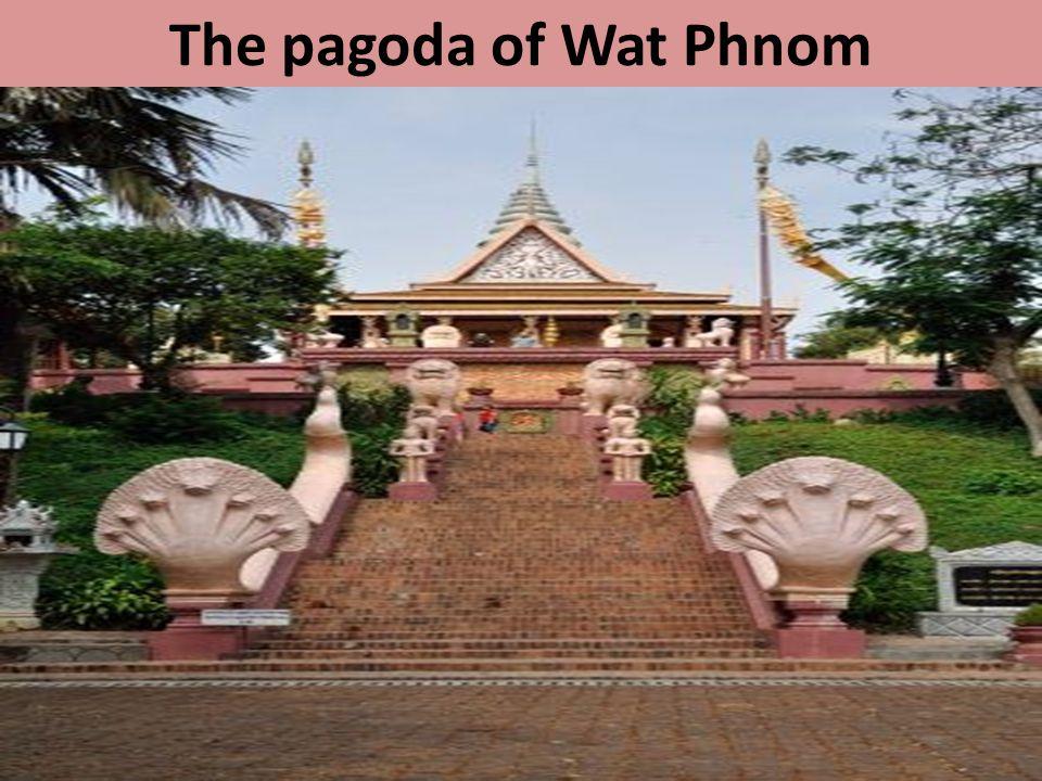 The pagoda of Wat Phnom