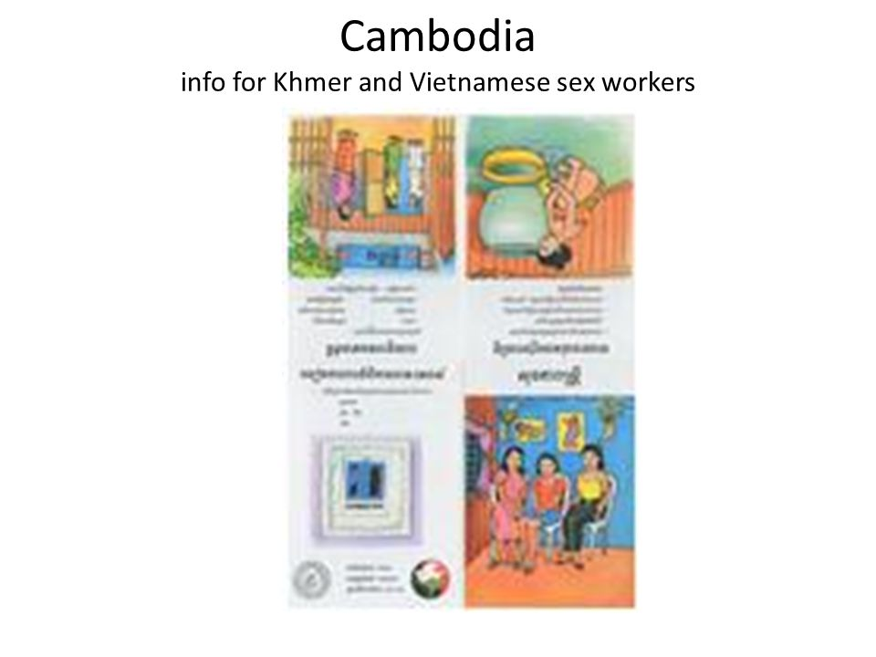 Cambodia info for Khmer and Vietnamese sex workers