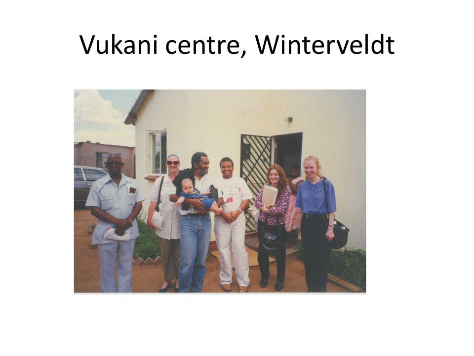 Vukani centre, Winterveldt