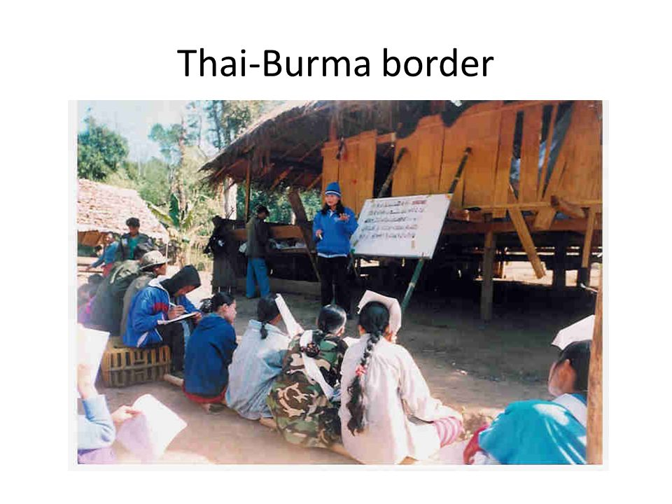 Thai-Burma border