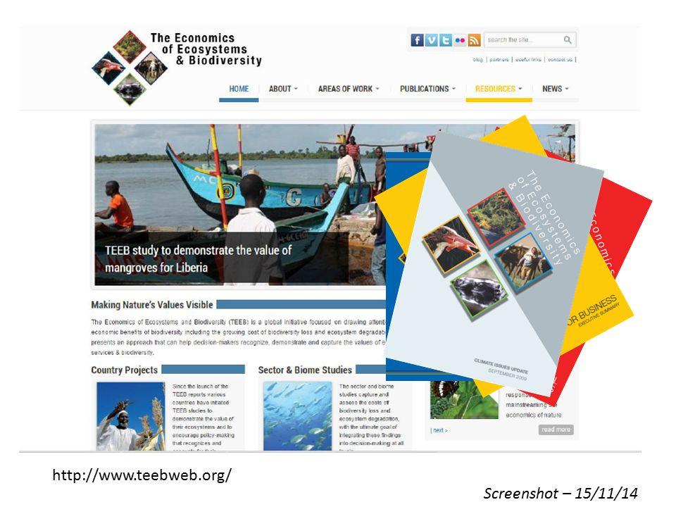 http://www.teebweb.org/ Screenshot – 15/11/14