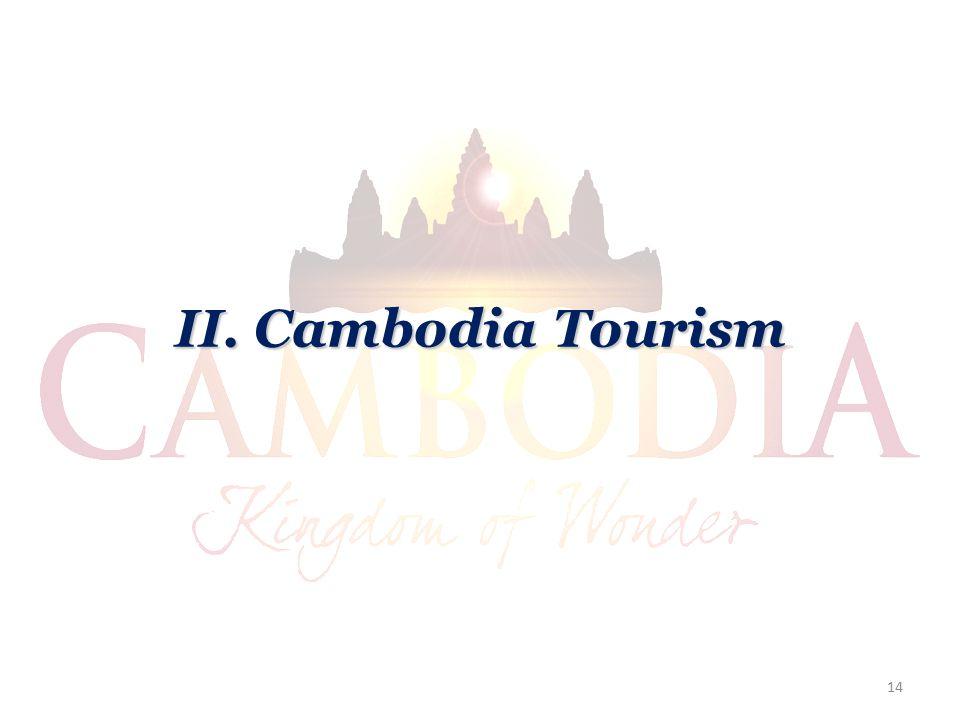 II. Cambodia Tourism 14