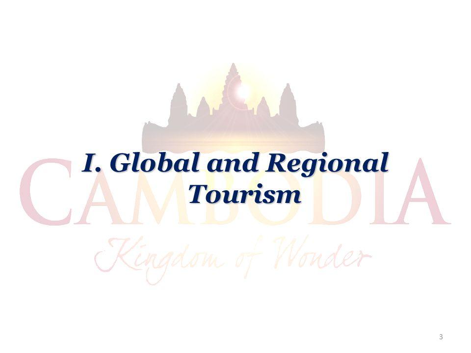 I. Global and Regional Tourism 3