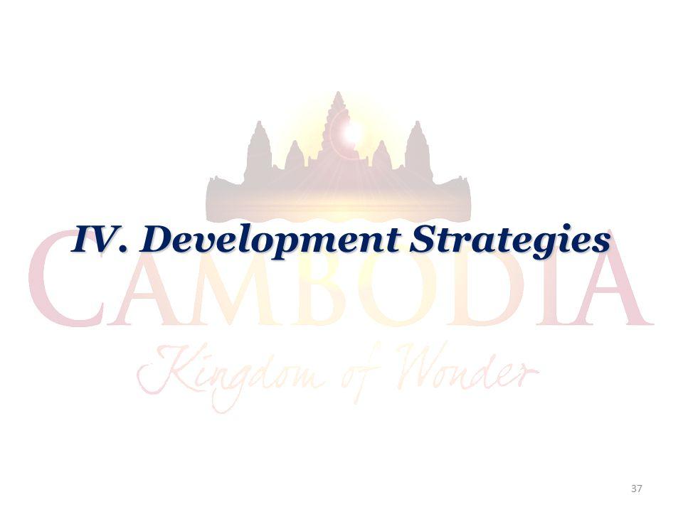 IV. Development Strategies 37