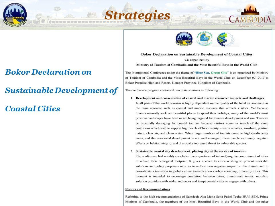 Strategies 40 Bokor Declaration on Sustainable Development of Coastal Cities