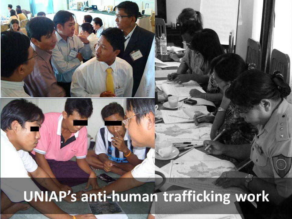 UNIAP's anti-human trafficking work