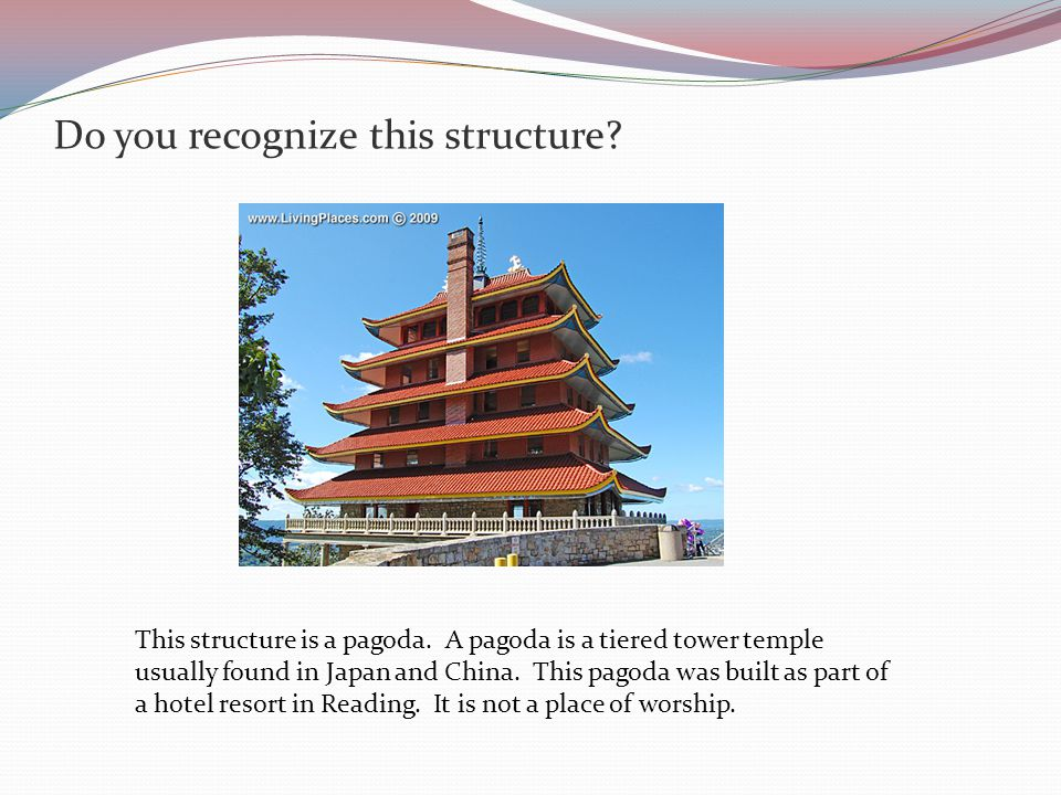 There are other types of Buddhist temples The white structures are called stupas.