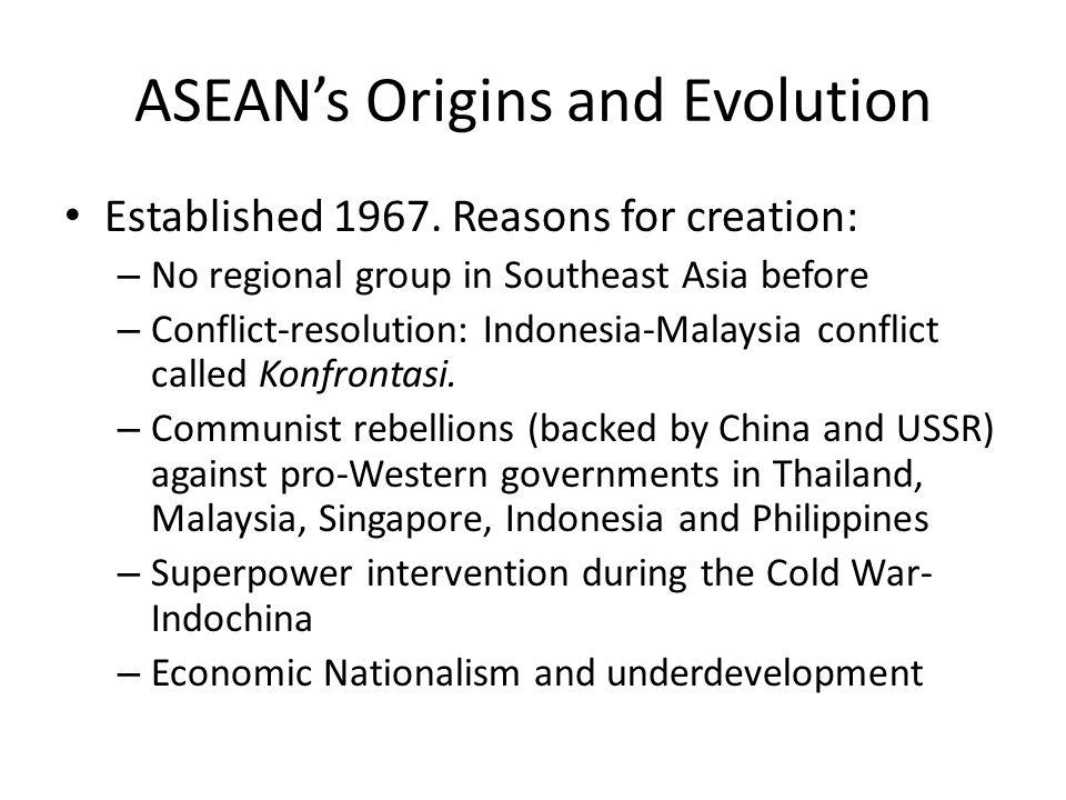 ASEAN Members 1967: Five.