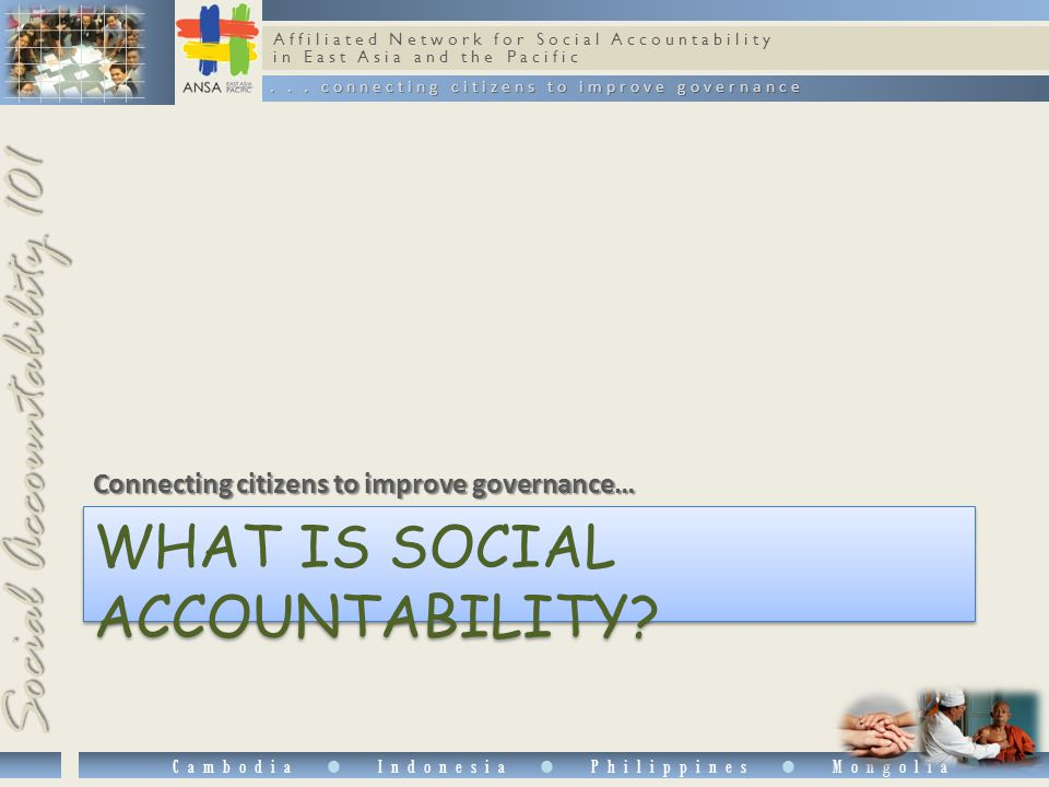 Affiliated Network for Social Accountability in East Asia and the Pacific...