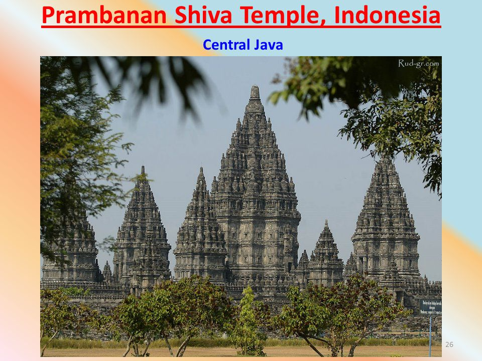Prambanan Shiva Temple, Indonesia 26 Central Java