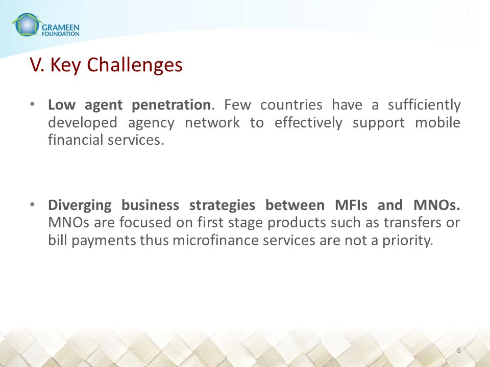 V.Key Challenges Mobile phones are frequently shared.