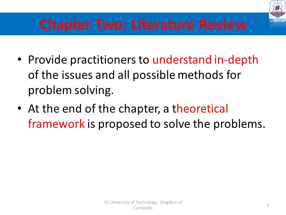 2.1 Background of the research – Provide details to explain and support what was discussed in 1.1 (Background); 1.2 (Problem statement) and 1.3 (needs of study).