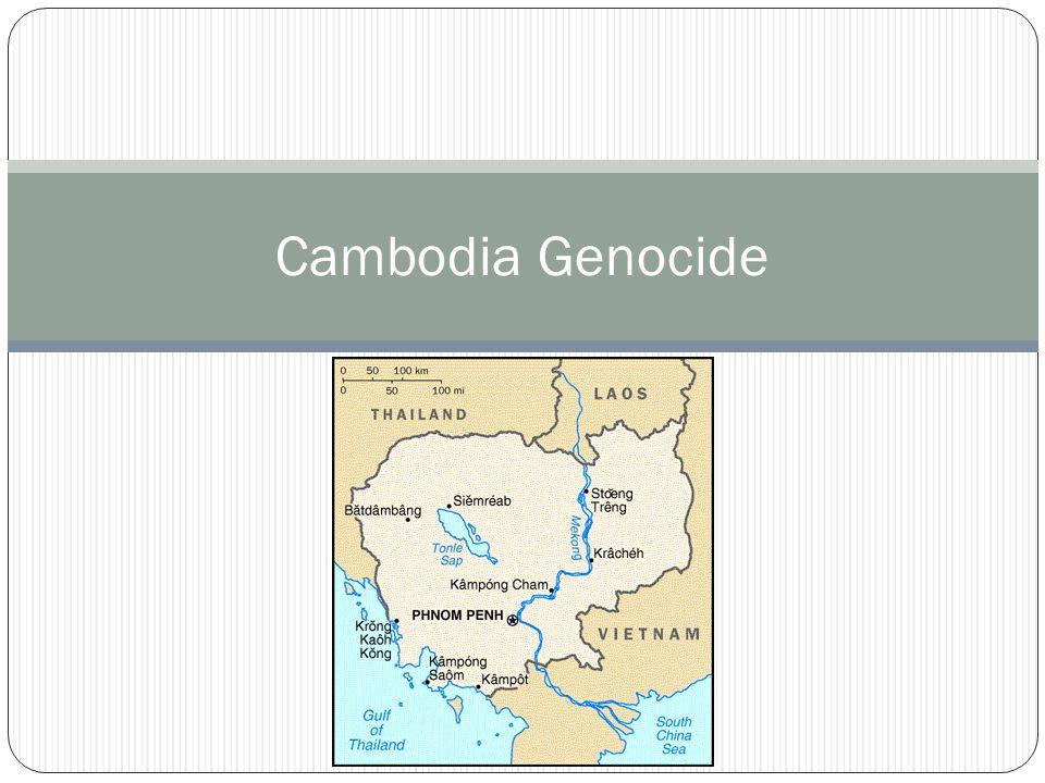 Cambodia Genocide